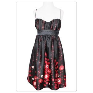 Speechless strappy floral party dress Jr size 9